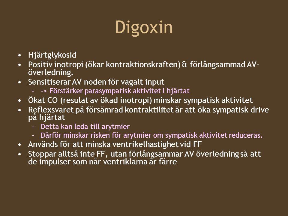 Digoxin Hjärtglykosid