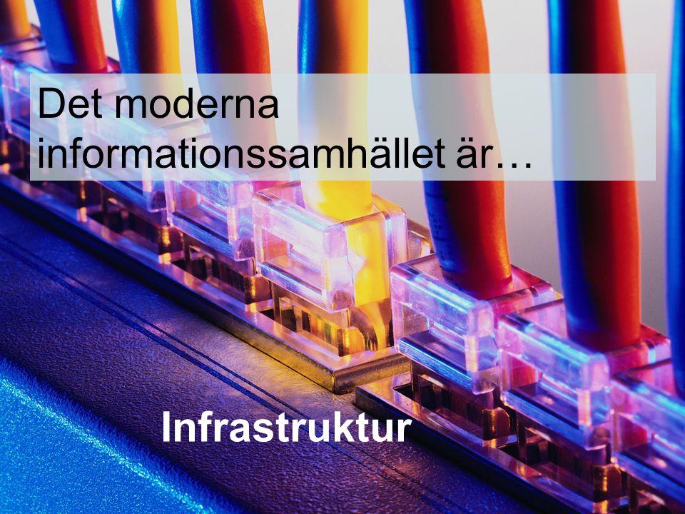 Det moderna informationssamhället är…
