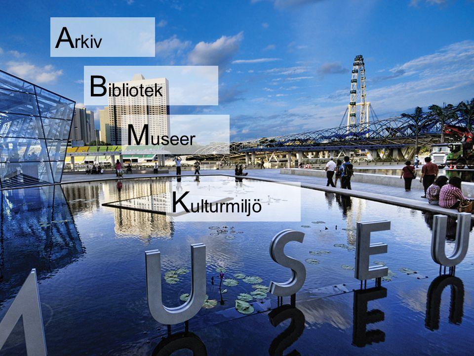 Arkiv Bibliotek Museer Kulturmiljö