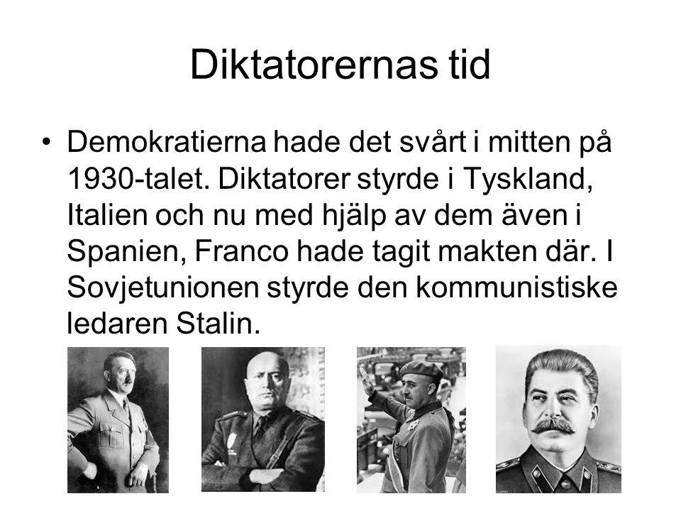 Diktatorernas tid