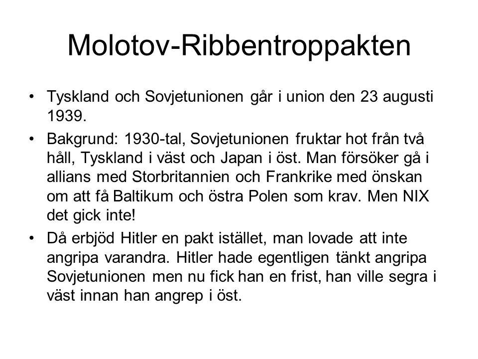 Molotov-Ribbentroppakten