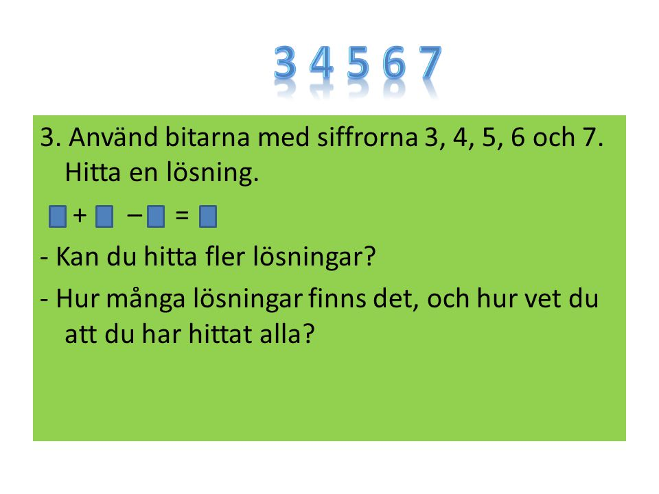 3 4 5 6 7