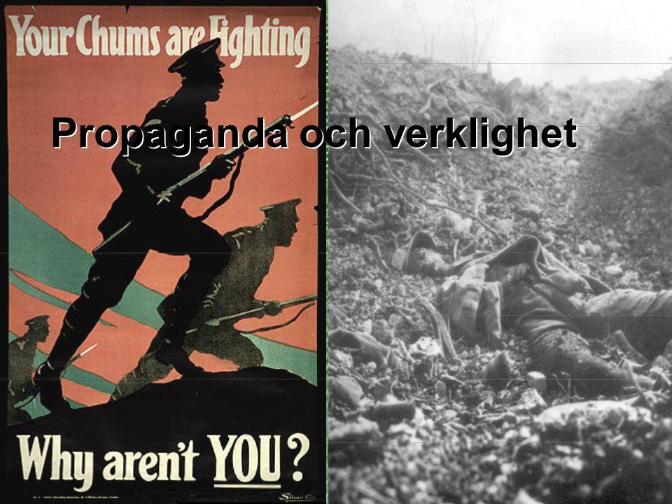 Propaganda och verklighet