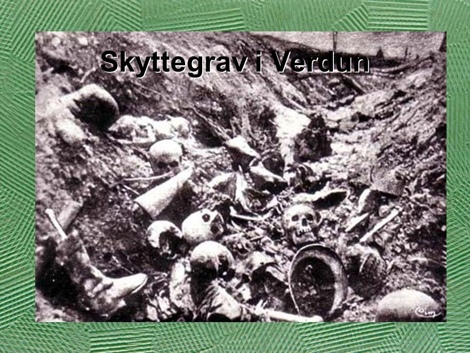 Skyttegrav i Verdun