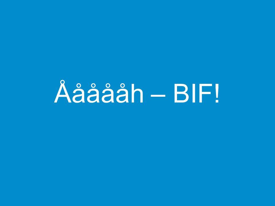 Åååååh – BIF! Kapitelsida
