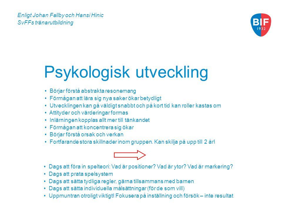 Psykologisk utveckling