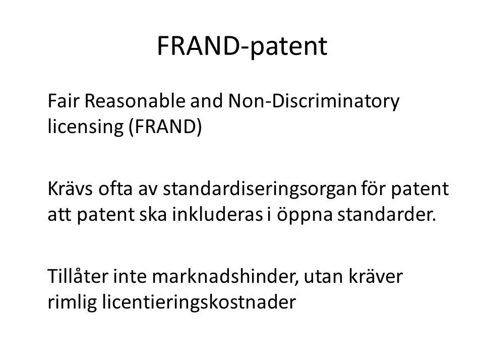 FRAND-patent