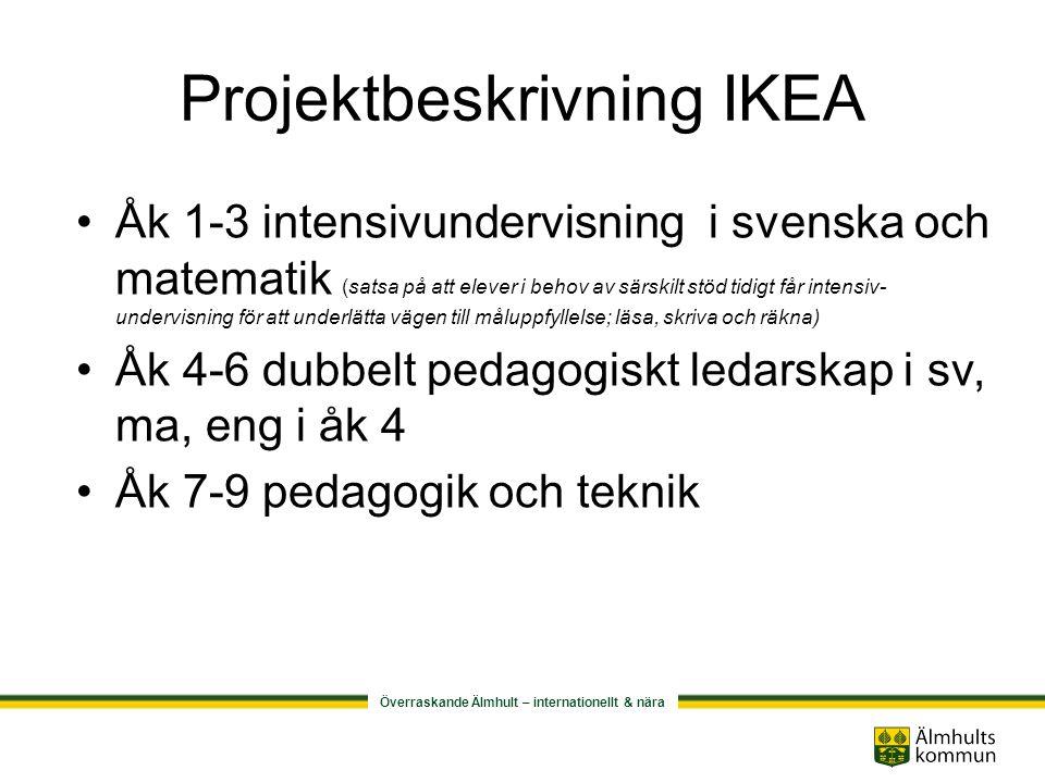 Projektbeskrivning IKEA