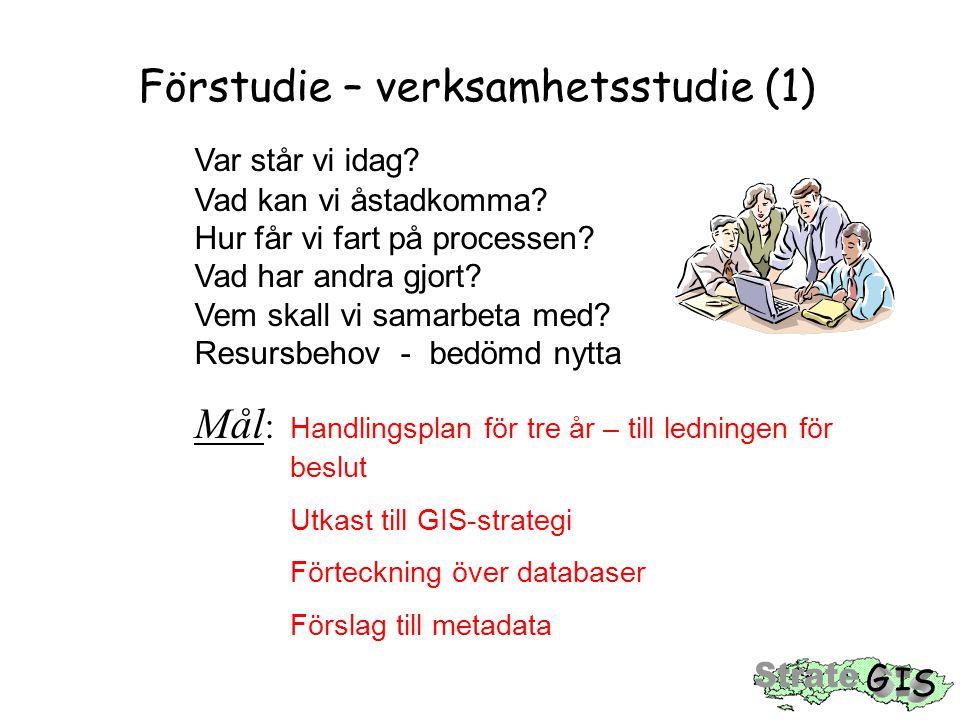 Förstudie – verksamhetsstudie (1)