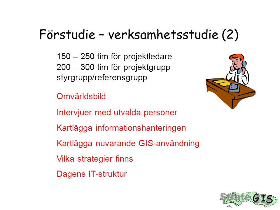 Förstudie – verksamhetsstudie (2)