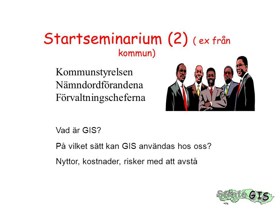 Startseminarium (2) ( ex från kommun)