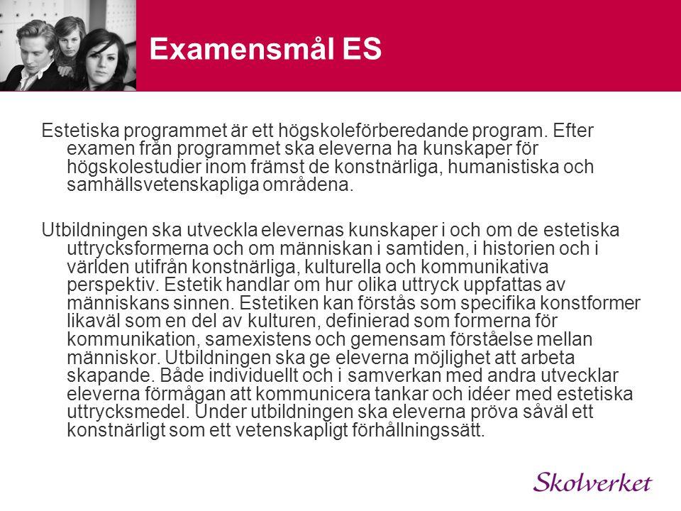 Examensmål ES