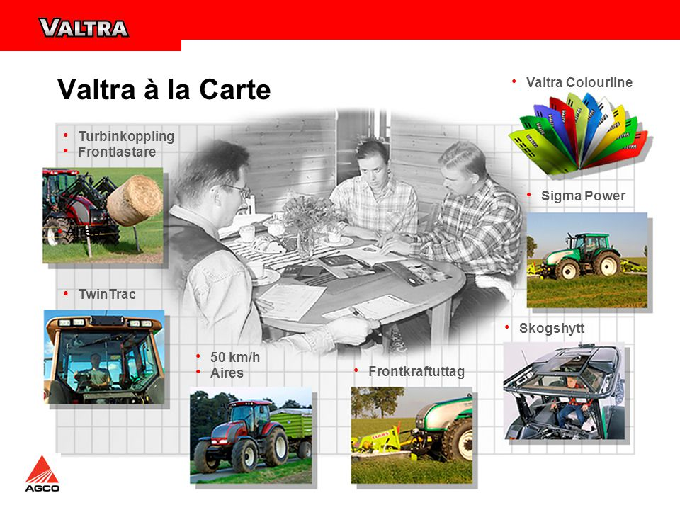 Valtra à la Carte • Aires Valtra Colourline Turbinkoppling