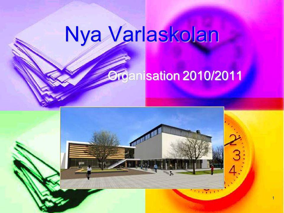 Nya Varlaskolan Organisation 2010/2011