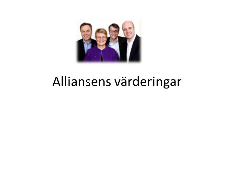 Alliansens värderingar