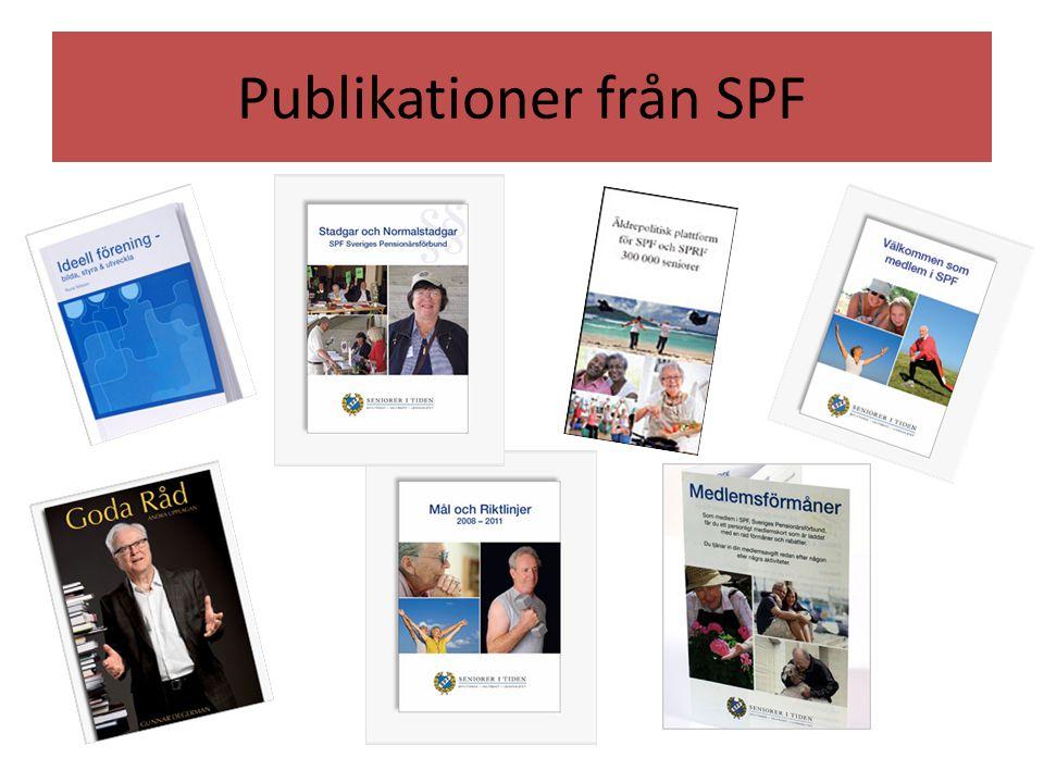 Publikationer från SPF