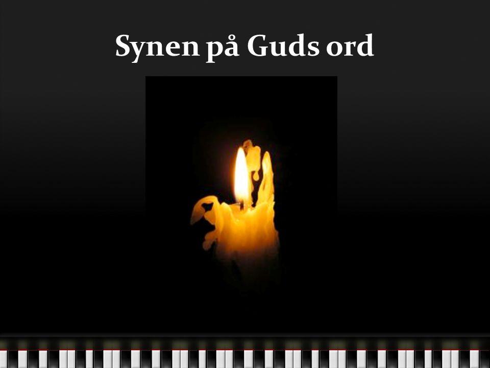 12-01-21 Synen på Guds ord