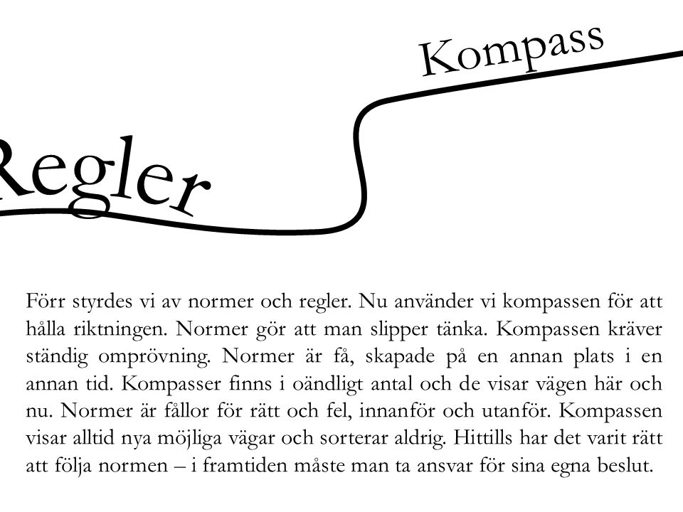 Kompass Regler.