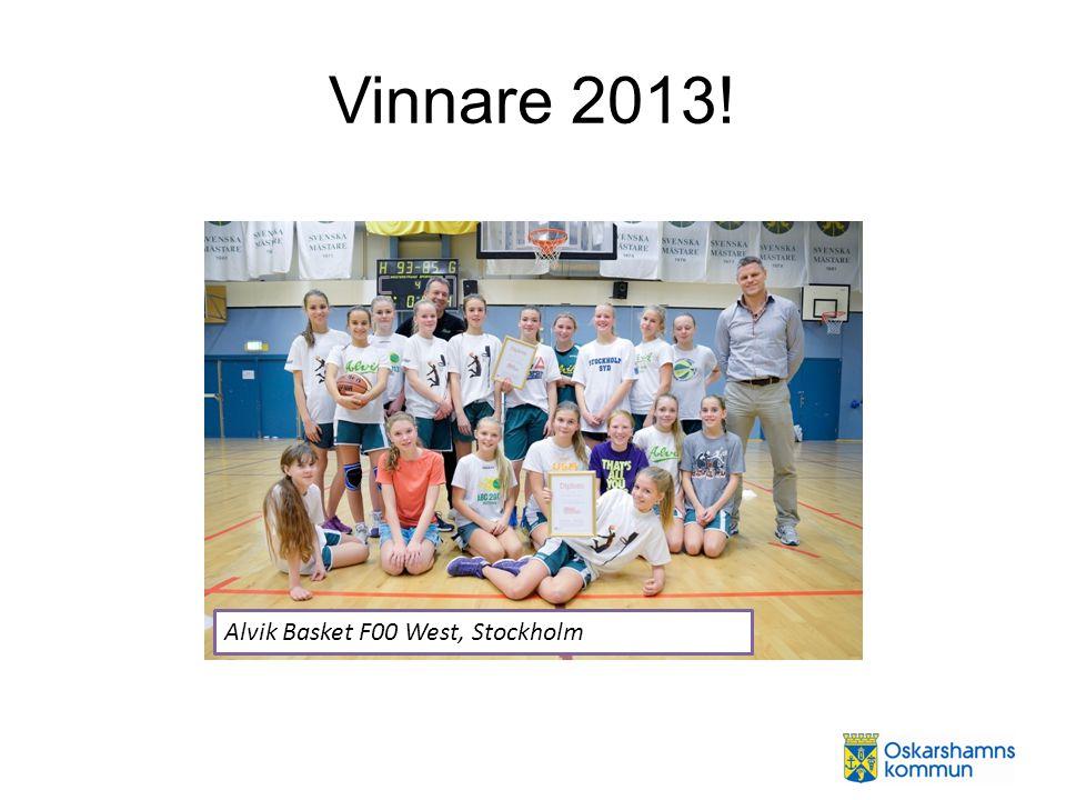 Vinnare 2013! Alvik Basket F00 West, Stockholm