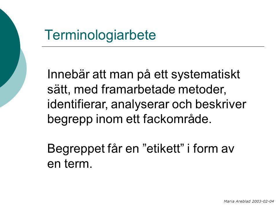 Terminologiarbete