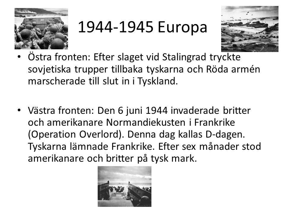 1944-1945 Europa