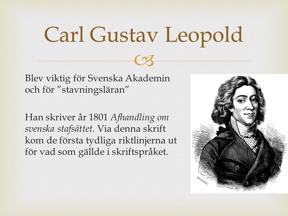 Carl Gustav Leopold