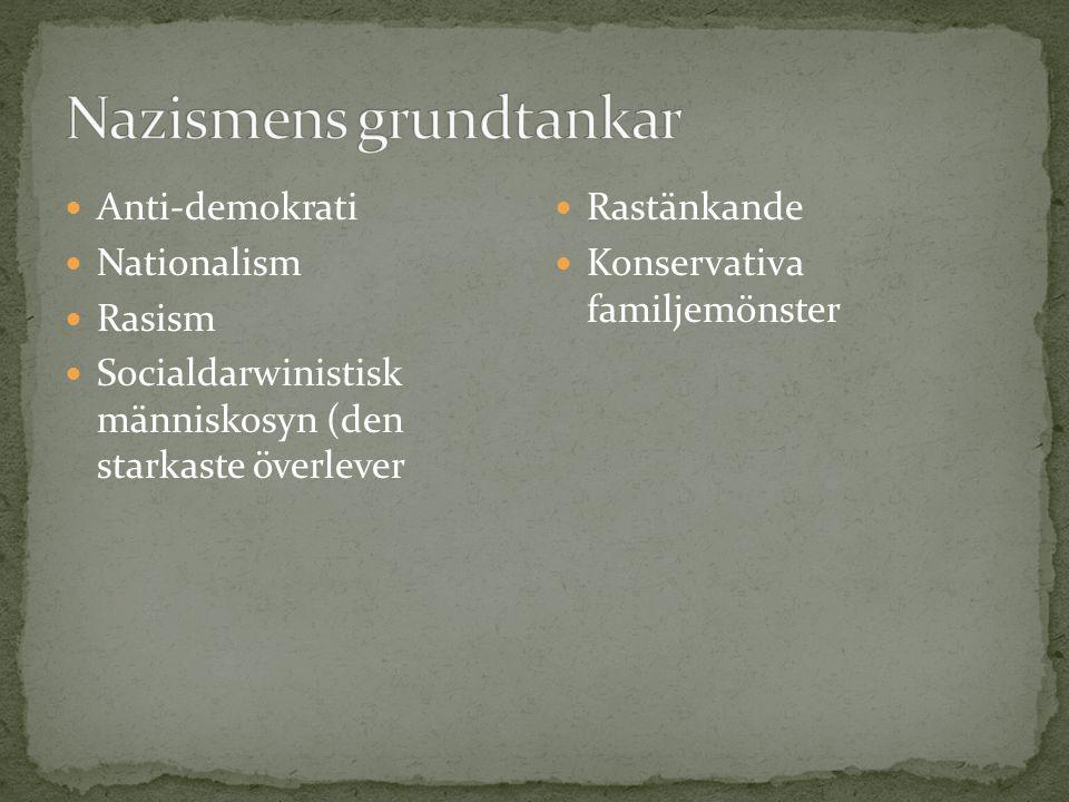 Nazismens grundtankar