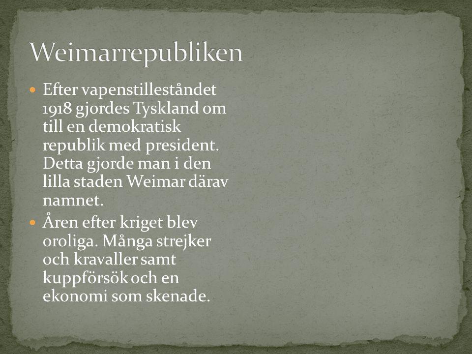 Weimarrepubliken