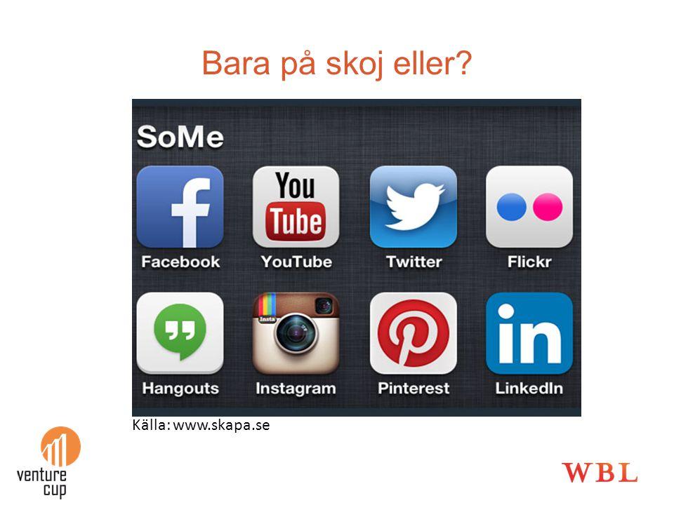 Bara på skoj eller Källa: www.skapa.se