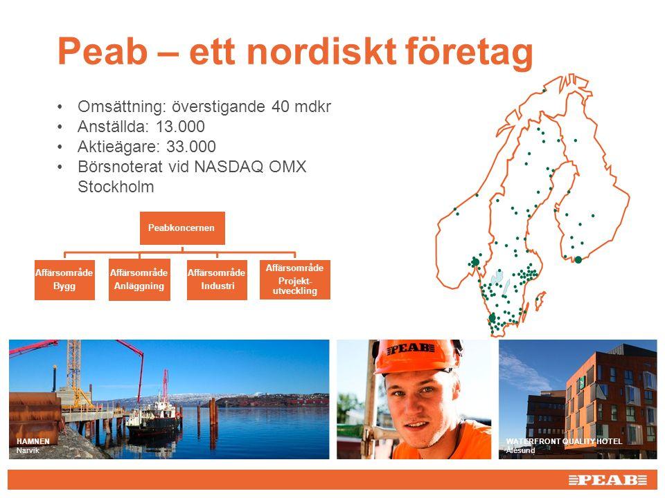 Peab – ett nordiskt företag