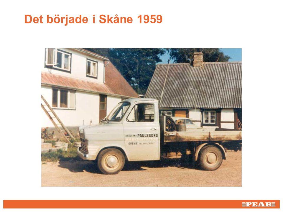 Bild från AnnCi Det började i Skåne 1959 FÖRDJUPAD INFORMATION