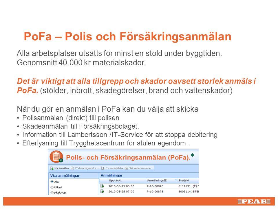 PoFa – Polis och Försäkringsanmälan