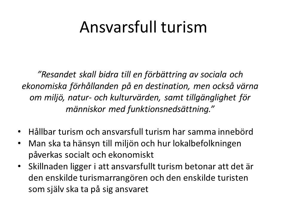Ansvarsfull turism