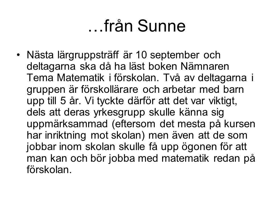 …från Sunne