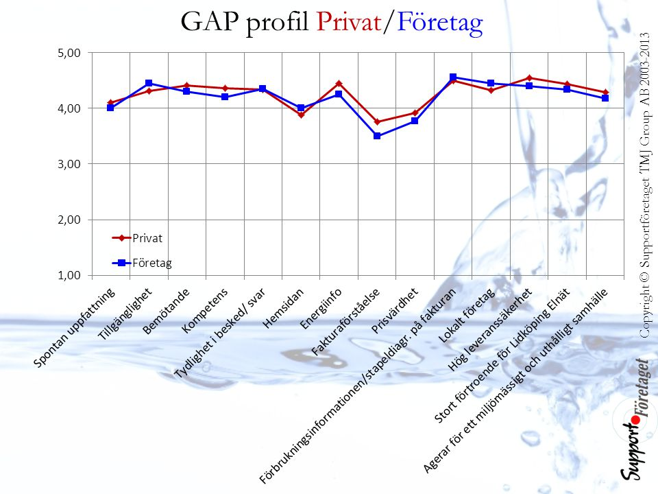 GAP profil Privat/Företag
