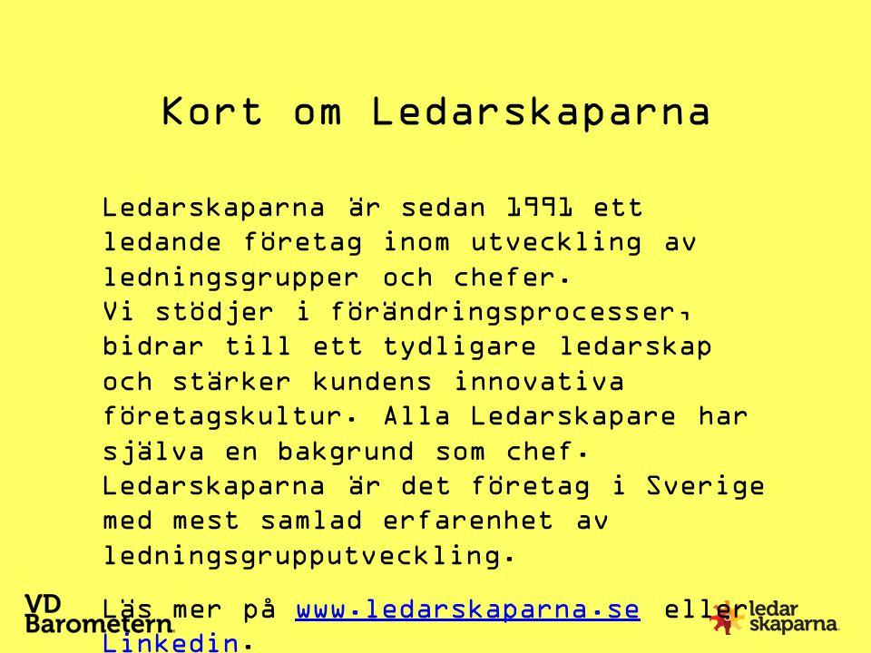 Kort om Ledarskaparna