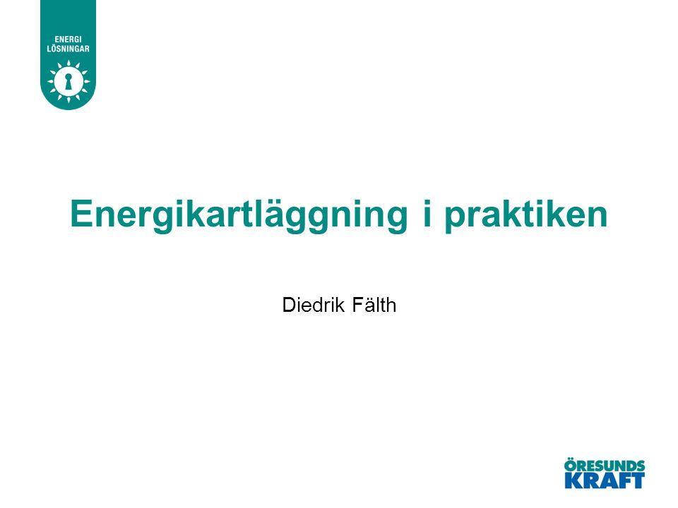 Energikartläggning i praktiken