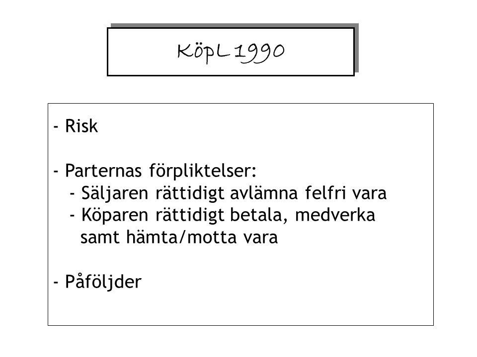 KöpL 1990 Risk.