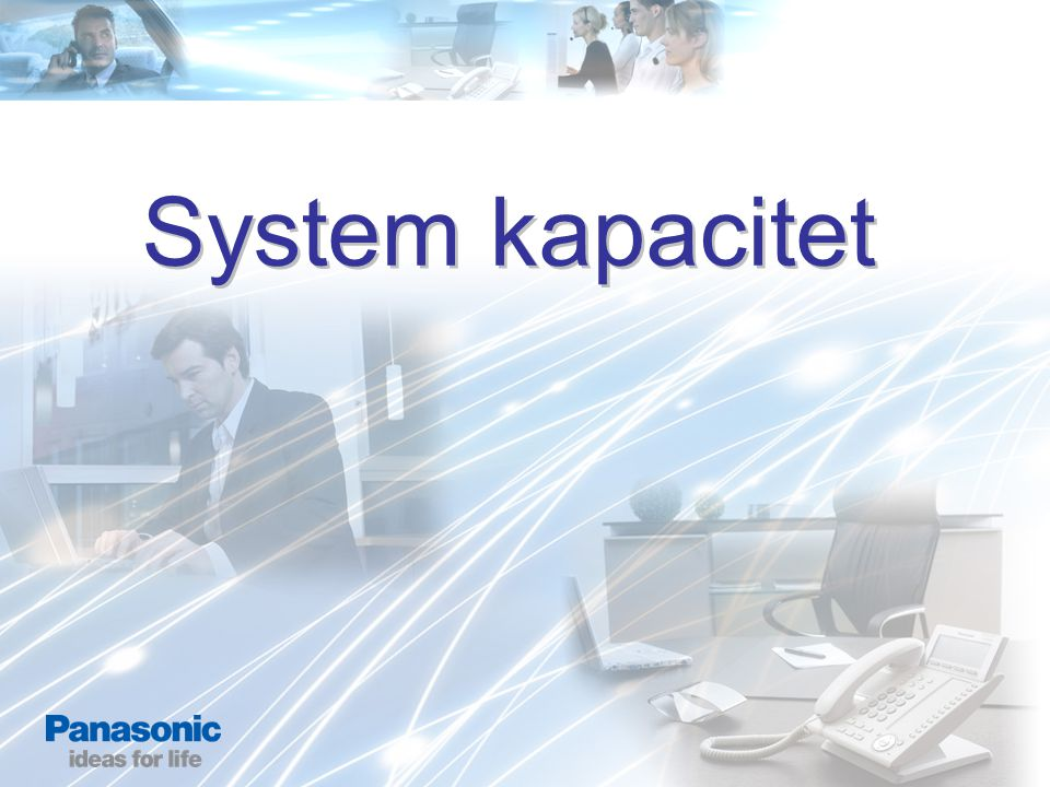 System kapacitet