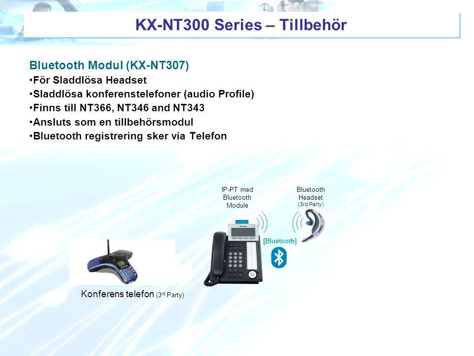 KX-NT300 Series – Tillbehör