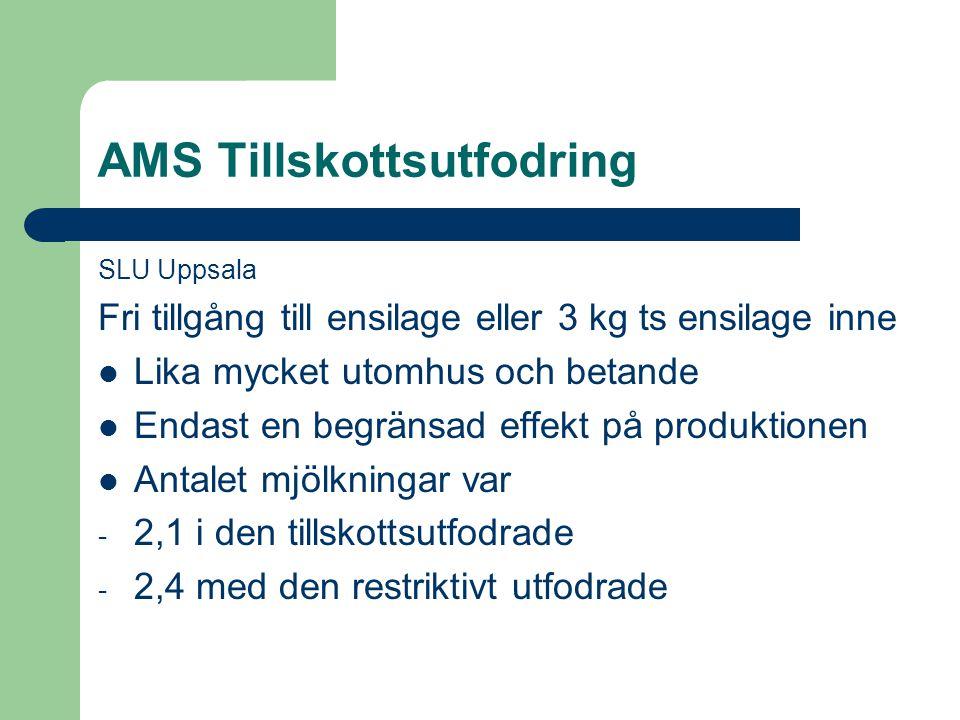 AMS Tillskottsutfodring