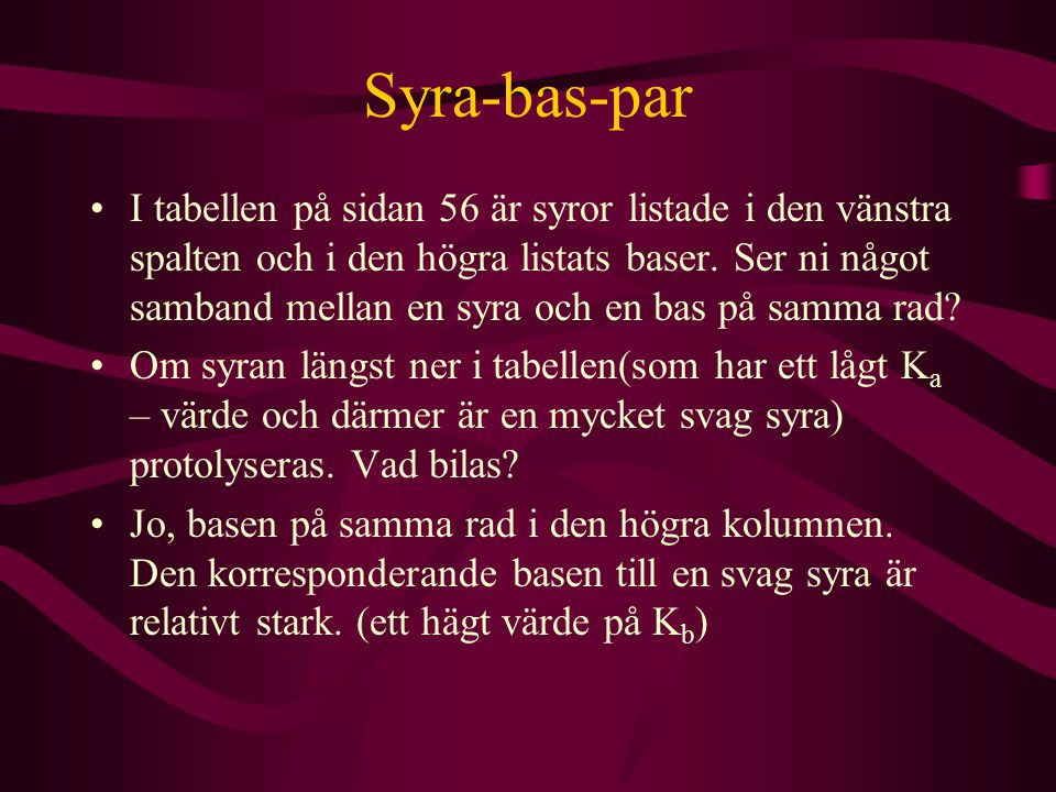 Syra-bas-par