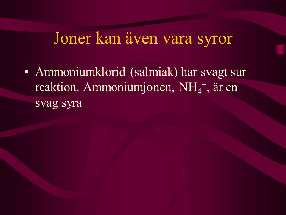 Joner kan även vara syror