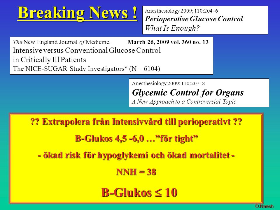 Breaking News ! B-Glukos  10 Glycemic Control for Organs
