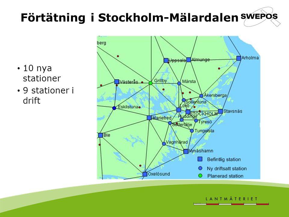 Förtätning i Stockholm-Mälardalen