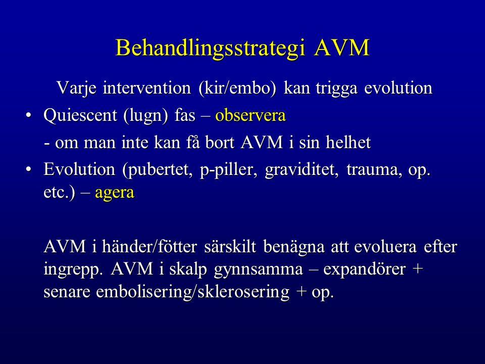Behandlingsstrategi AVM