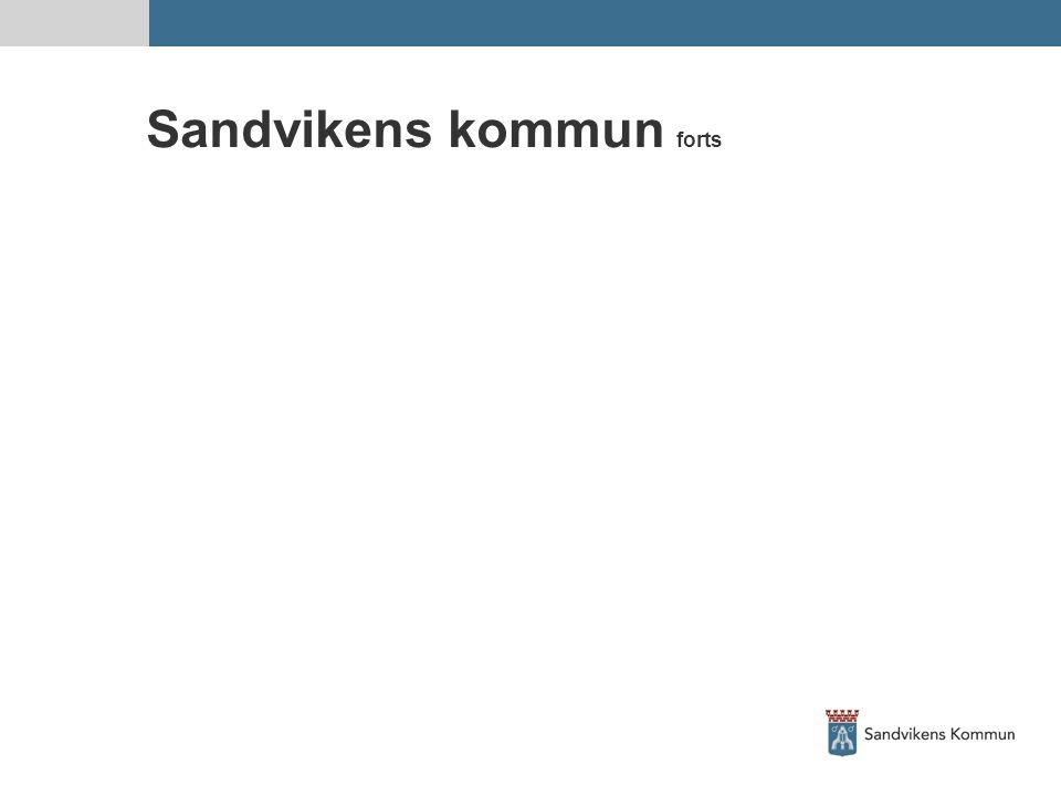 Sandvikens kommun forts
