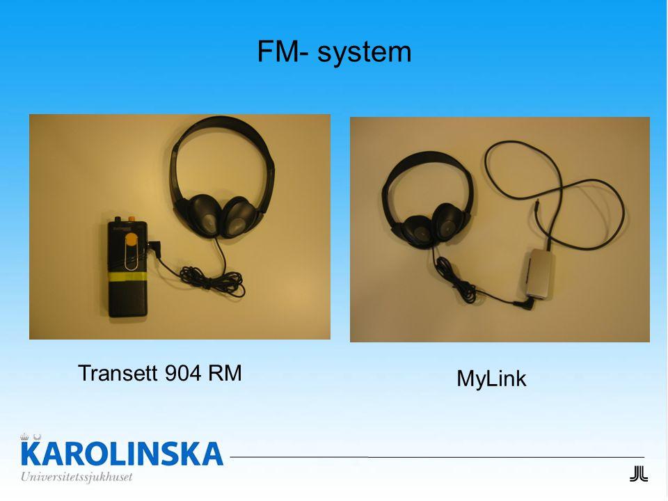 FM- system Transett 904 RM MyLink