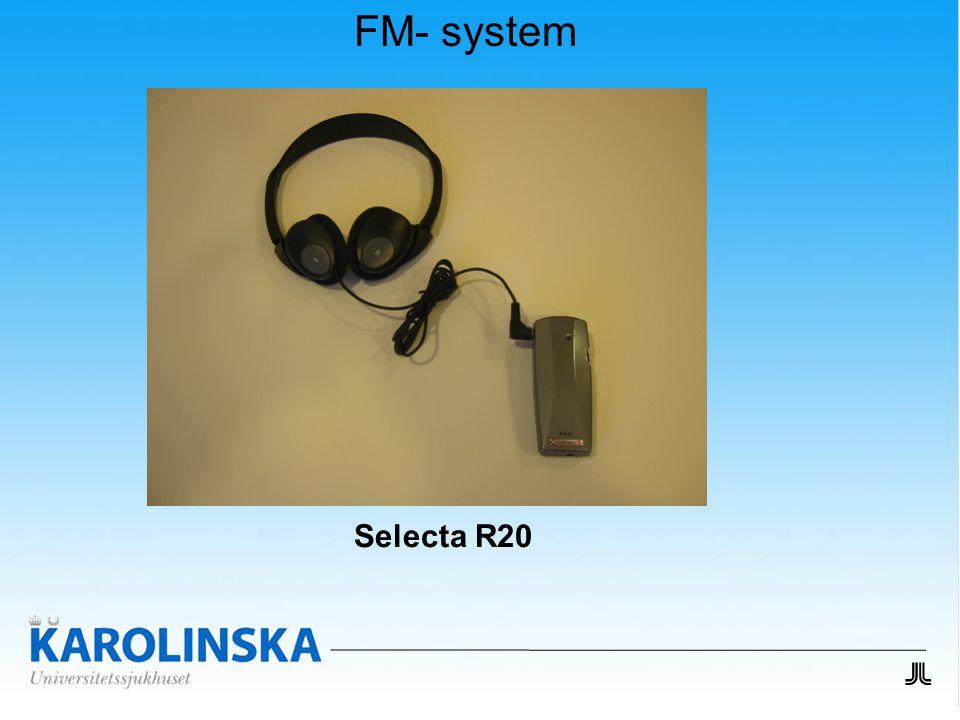 FM- system Selecta R20