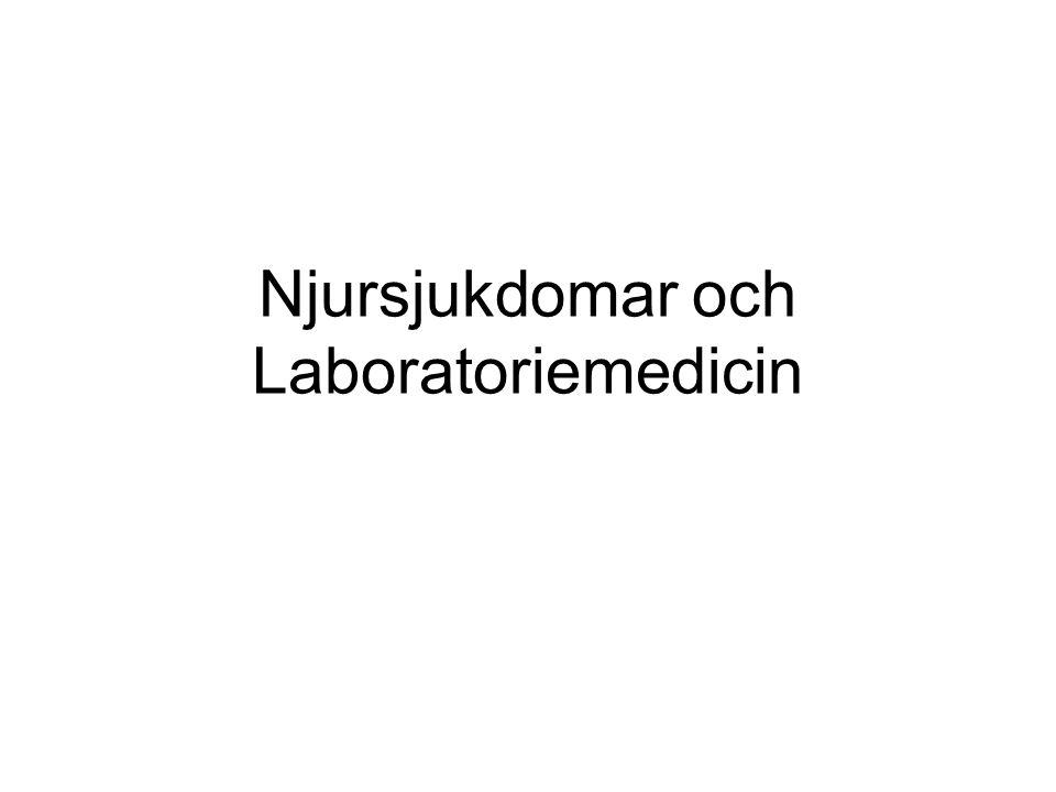 Njursjukdomar och Laboratoriemedicin